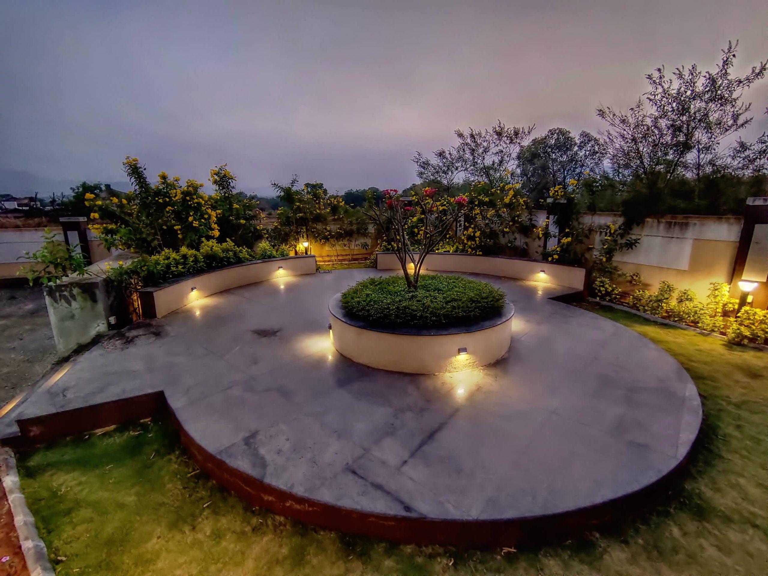HAVE Villa Garden view