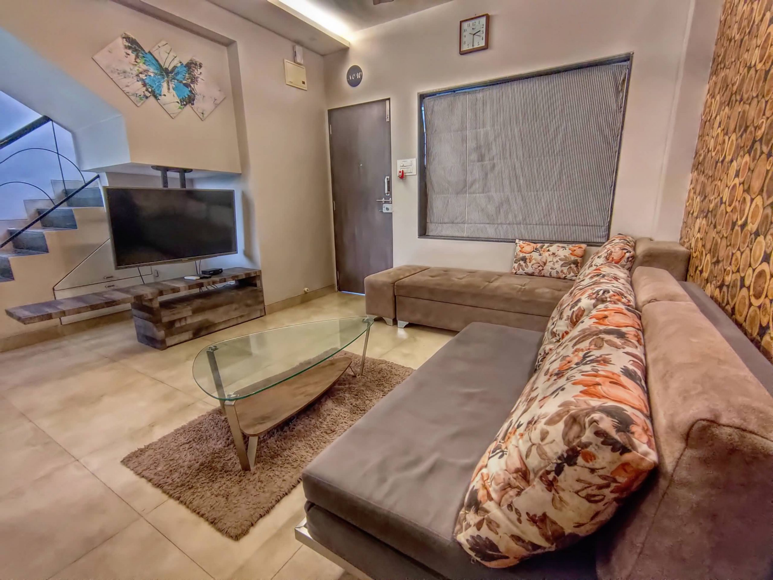 HAVE Villa 12 - Living room with LED TV.