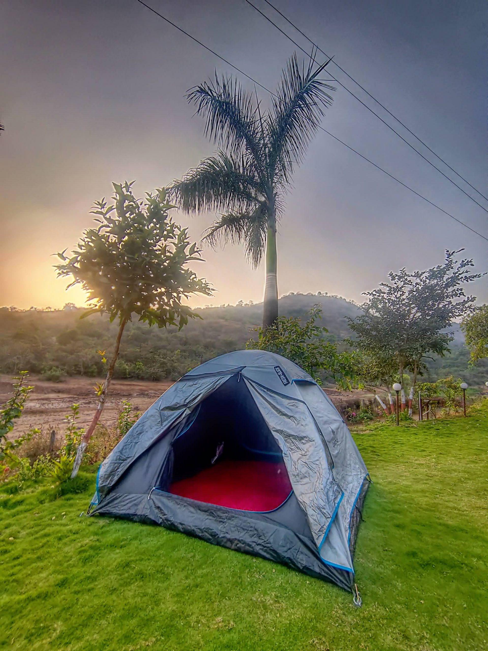 Pawna Lake Camping at HAVE Villas JMD Farm