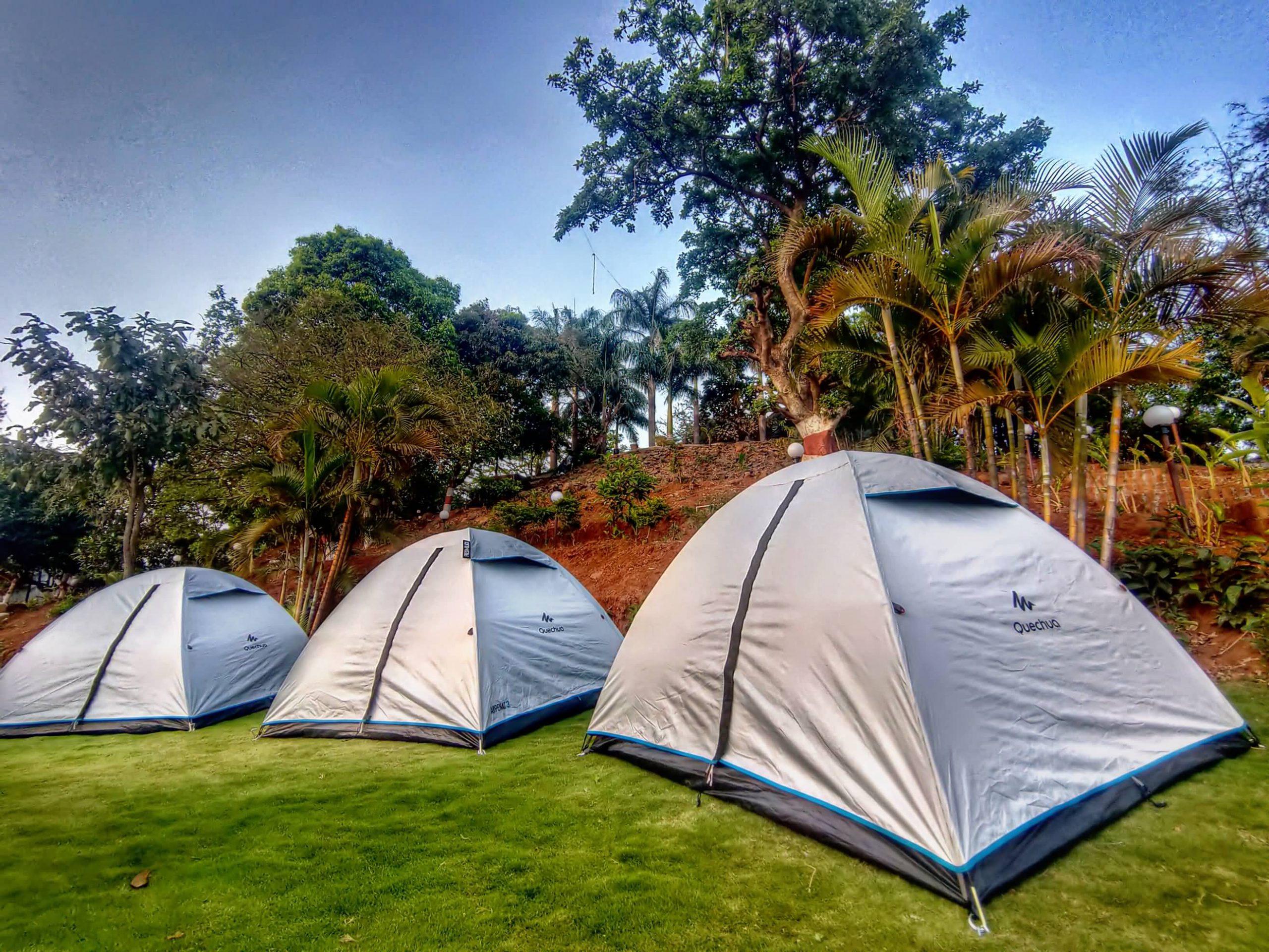 Tent Camping at HAVE Villas JMD Farm, Pawna Lake