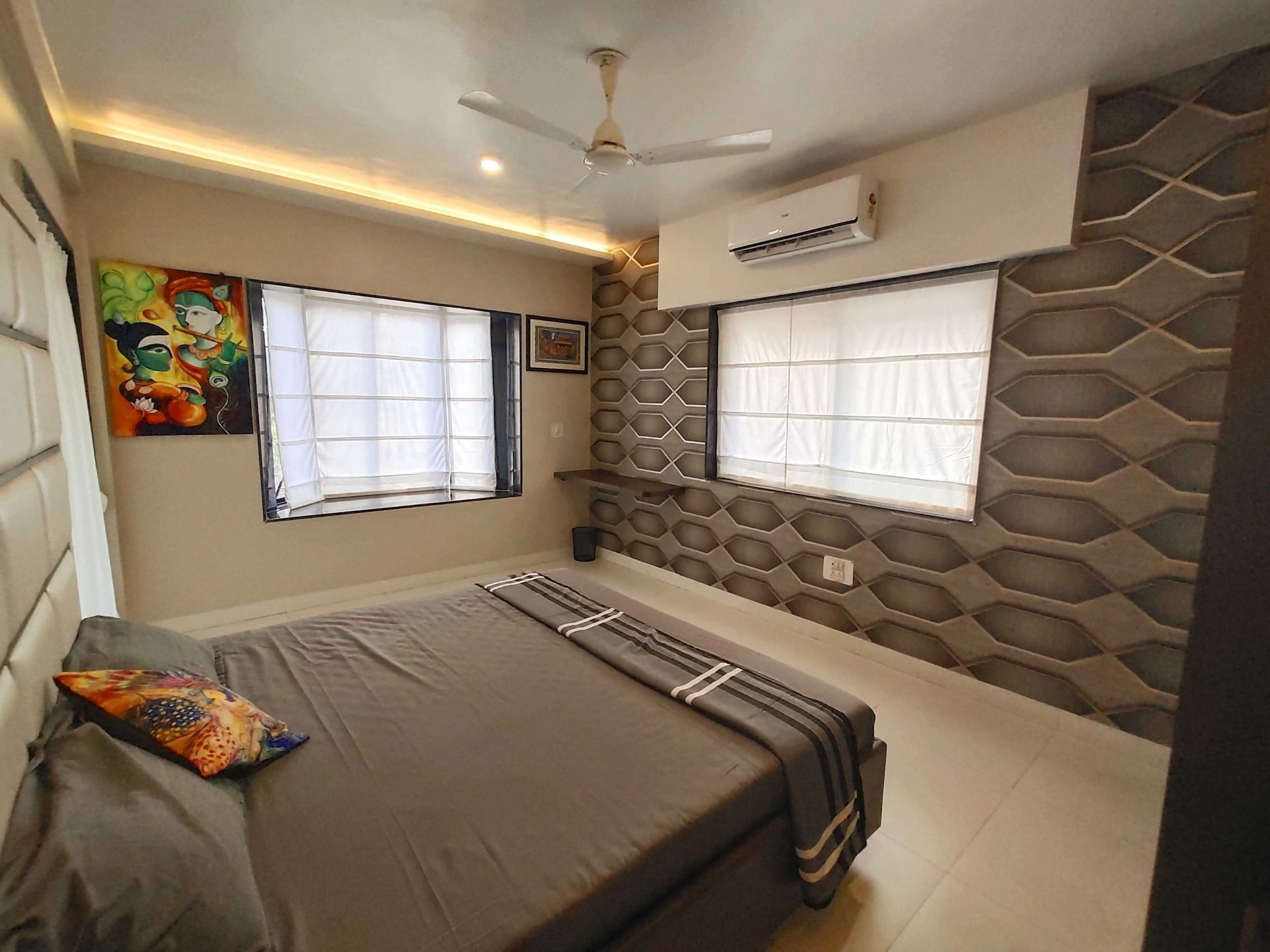 Bedroom with AC