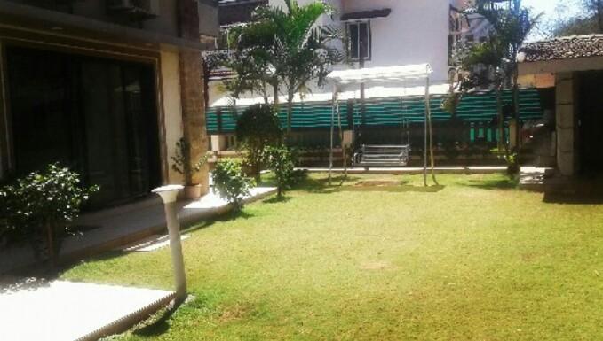 Beautiful Lawn beside the Villa