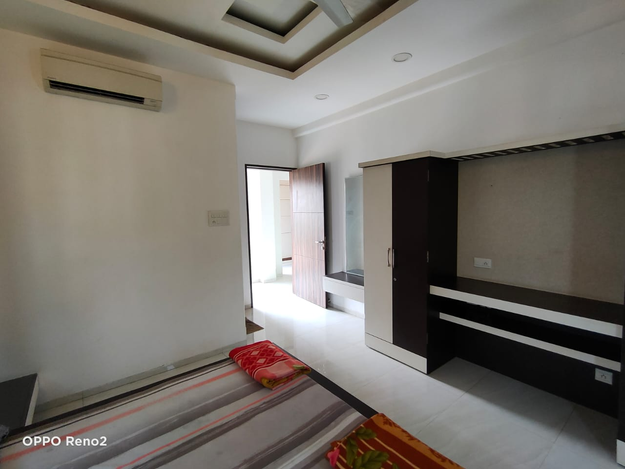 Bedroom view with AC
