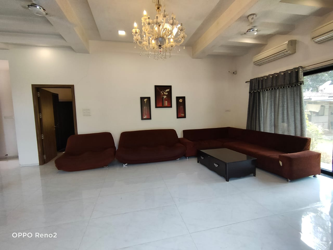 Living room view with Sofa