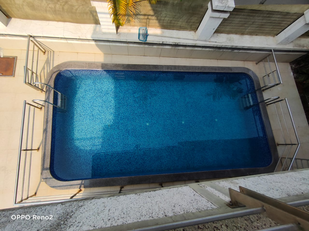 Swimming pool view from the TOP